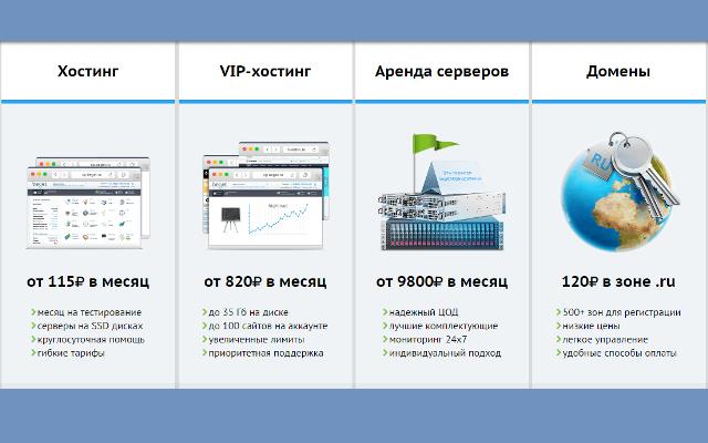Выбор хостинг для joomla конструктор сайта на свой хостинг