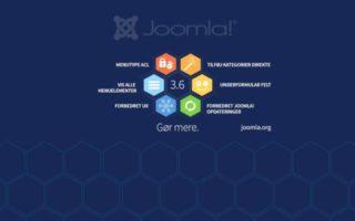 Создание сайта Joomla